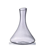 Huappo Crystal Lead Free Wine Decanter Liquor Bottle with Stopper for Home Kitchen Bar Drinking Whiskey Vodka 1870ml