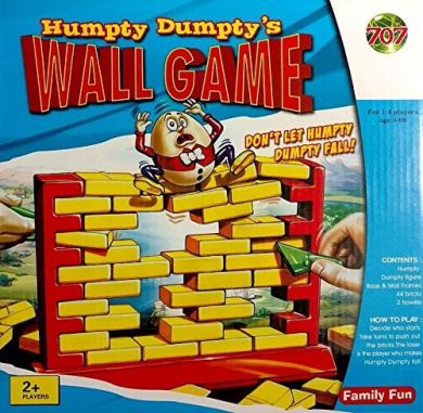 Humpty Dumpty's Plastic Wall Game - Tearing Down Brick Demolition - 3D Fun Game