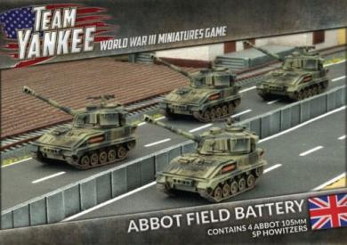 Team Yankee Abbot Field Artillery - TBBX06 - By Battlefront