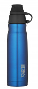 THERMOS Vacuum Insulated Stainless Steel Carbonated Beverage Bottle, 500ml, Blue