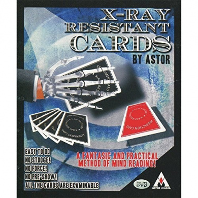 MMS X-Ray Resistant Cards (with Marker) by Astor - Trick by M & M's