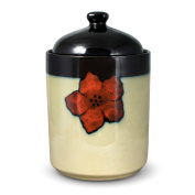 Pfaltzgraff Everyday Painted Poppies Large Canister, 22cm
