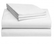 Pacific Linens Pillowcases White 12 Pack 200 Thread Count Percale Fabric Hotel Linen Size