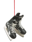 1 X Christmas/ Everyday Ornament- 6.4cm Hockey Skates (Hang or Stand Up!) by Midwest-CBK
