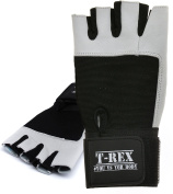 T-REX Men's Weight Lifting Gloves with Long Wrist Wrap