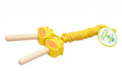 TeTyLife Colourful Wooden Handle Animal Jump Rope For Kids
