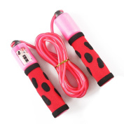 TeTyLife PVC Speed Skipping Rope Athletics Speed Jump Rope With Sponge Handle For Kids, Adults, Atheletes