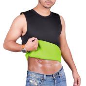 ARD Men's Body Shaper Sauna Vest Neoprene Tank Top Weight Loss, Burn More Fat and Produce Heat for Workouts Shapewear