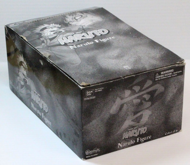 Naruto Series 3 Trading Figures Mystery Package Full Countertop Display Box with 12 Figures