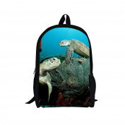 Bigcardesigns DIY Fashion Animal Backpack Book Bag for Teenagers