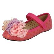 Girls Cutie Flat Party Shoes '110m