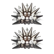 Shoelery Spiked Star Shoe Clips Pair by Erica Giuliani
