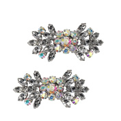 Froufrouz - Shoe Clips Women Shoe Accessories Shoe Jewellery Bonnie - Sold In Pairs - For Casual, Evening And Bridal Shoes