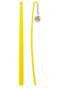Shoehorn Shoe Horn - XXL - Yellow - 1 Piece - Made from High Quality PVC Material - Extra Long - 77 cm
