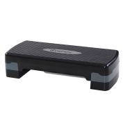 Giantex 70cm Fitness Aerobic Step Exercise Stepper Platform Adjust 10cm - 15cm w/ Riser