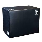 Body-Solid Tools 3 Way Soft Plyometrics Box, Black