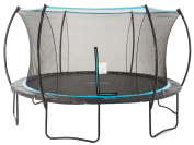 SkyBound Cirrus 4.3m Trampoline with Full Enclosure Net System