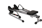 Sunny Health & Fitness 12 Level Resistance Rower by - SF-RW5619 12 Level Resistance Rower, Grey