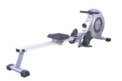 Sunny Health & Fitness Dual Function Rowing Machine by - SF-RW5612 Dual Function Rowing Machine, Grey