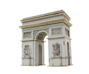 Lychee 3D Wooden Jigsaw Puzzle Construction Kit, World's great architecture Triumphal Arch Woodcraft DIY Toy Kit