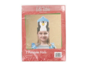 """""""Holiday Fun Penguin Hats, Pack Of 5.1cm"""