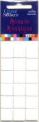 White Square 15mm Mosaics