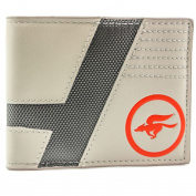 Star Fox Zero Star Wing Team Logo Grey Coin & Card Bi-Fold Wallet