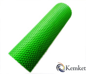 Kemket Yoga EVA Foam Roller 15cmx45cm - Yoga, Pilates, Fitness Routines, Rehabilitation Training, Stretching, Improving Core Muscles, Strength, Posture, Stability, Massage Therapy