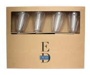 E.D. Edison Style LED 8-Light String, Battery Powered, Elongated