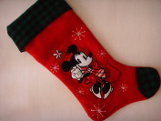 Disney Minnie Mouse Red Large 50cm Christmas Stocking