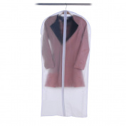 Acamifashion Plastic Transparent Clothes Suit Garment Dustproof Cover Storage Bag