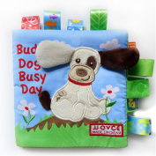 Cloth Book, Zolimx Baby Toy Animal Dog Intelligence Puzzle Cognition Cloth Development Books