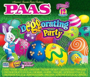 Paas Easter Egg Decorating Kit, Deggorating Party, 12 Activities
