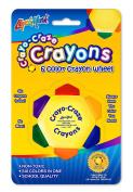 Liqui-Mark 6-colour Crayon Wheel