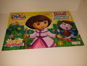 Dora the Explorer Giant Colouring and Activity Book.
