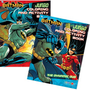 "DC Comics® Batman Colouring And Activity Book Set (Two 96-page Books) ""The Dynamic Duo"" and ""The Chase is On"""