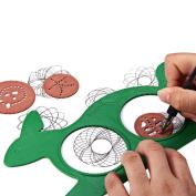 Magic Turtle Rabbit Multivariant Sketchpad Versatility Spirograph Pupils Educational Toy