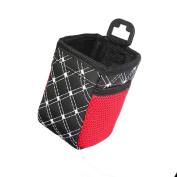 Grid Net Car Auto Air Vent Outlet Sundries Cell Phone Storage Bag Box Case Pouch Pocket Holder - Random Colour