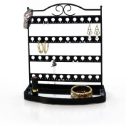 Mango Steam Earring Display Stand with Mirror Base