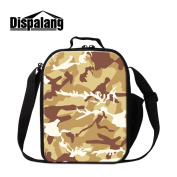 Dispalang Camouflage Insulated Lunch Cooler Bags for School Small Work Lunch Container for Office