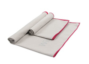 Winthome 2 Pack Microfibre Beach Towel - Quick Dry, Lightweight, Absorbent, Coloful Travel Towel