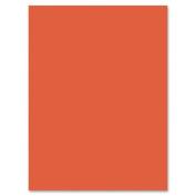 Riverside Groundwood Construction Paper - 30cm x 23cm - Orange