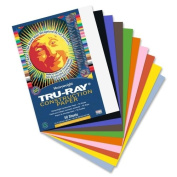 Tru-Ray Construction Paper - 30cm x 23cm - Assorted