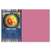 Tru-Ray Construction Paper - 46cm x 30cm - Light Red