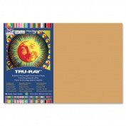 Tru-Ray Sulphite Construction Paper - 46cm x 30cm - Tan