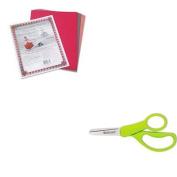 KITACM13130PAC103637 - Value Kit - Westcott Kids Scissors (ACM13130) and Pacon Riverside Construction Paper