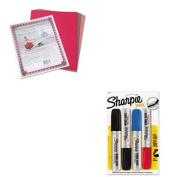 KITPAC103637SAN15674PP - Value Kit - Sharpie King Size Markers (SAN15674PP) and Pacon Riverside Construction Paper