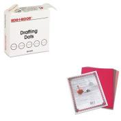 KITKOH25900J01PAC103637 - Value Kit - Koh-i-noor Adhesive Drafting Dots w/Dispenser (KOH25900J01) and Pacon Riverside Construction Paper