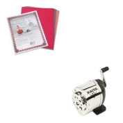 KITEPI1031PAC103637 - Value Kit - X-acto Manual Pencil Sharpener (EPI1031) and Pacon Riverside Construction Paper
