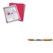 KITPAC103637SAN1823888 - Value Kit - Sharpie Metallic Permanent Markers (SAN1823888) and Pacon Riverside Construction Paper